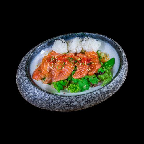 10 Salmon Carpaccio